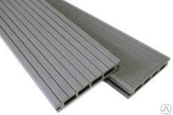Террасная доска ДПК (MK01A-GR) серый