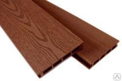 Террасная доска ДПК (МК15-CH) шоколад