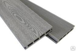 Террасная доска ДПК (МК15-GR) серый