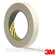 Клейкая лента 2328 3М малярный, стандартный, (80°С), 19мм х 50м