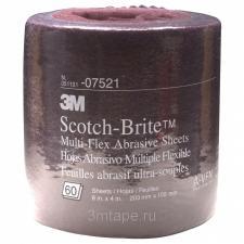 ЛИСТ SCOTCH-BRITE MX-SR A VFN, A UFN, A XFN 200ММ Х 100ММ