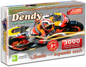 Игровая приставка Dendy Junior