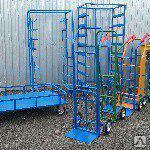 Продажа складского оборудования: тележки, контейнеры, стеллажи и другие металлоконструкции.