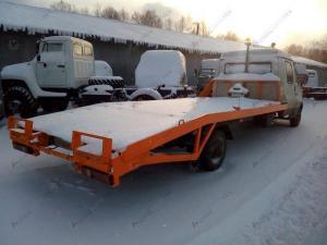 Переоборудование ГАЗ-33023 Газель-Фермер в эвакуатор