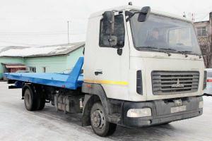 Переоборудование МАЗ-4370/4371 Зубренок в эвакуатор