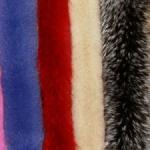 Меховой воротник из меха Песца, натуральный цвет