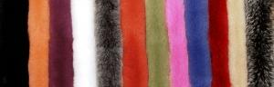 Меховые помпоны из меха Песца, натуральный цвет