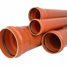 Труба ПВХ для наружной канализации DN 400х9,8х6140