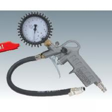 Пистолет для подкачки шин, с манометром