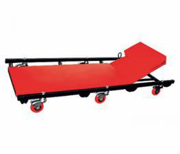 Лежак ремонтный на 6-ти колесах, поднимающийся подголовник 567455