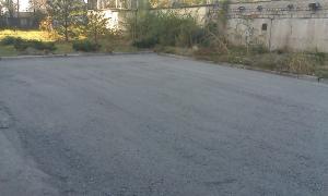 Строительство площадок и дорог