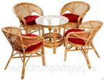 Комплект мебели «4 сезона» из натурального ротанга
