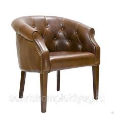 Кресло «Бруно» цвет коричневый