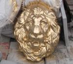 """Декор для забора """"Голова льва"""""""