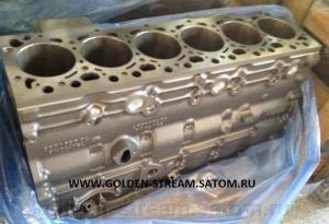 Блок цилиндров на двигатель Komatsu SAA6D107