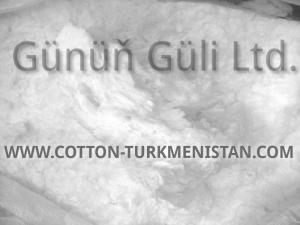 Волокно хлопковое отбеленное не подвергнутое кардо- или гребнечесанию - Sell bleached cotton fibre, non-carded, non-combed.