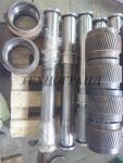 Обечайки роликов и др. запасные части для грануляторов. Производитель