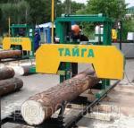 Ленточная электрическая пилорама Тайга Т-3 (d.800мм/6,5м)