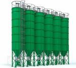Силос цемента EUROSILO 2500, 3000 сварной конструкции