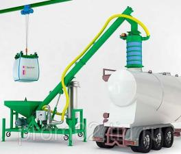 Комплекс растаривания и транспортирования сыпучих материалов СР 500 МОБИЛ