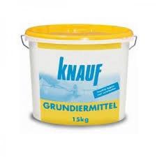 Кнауф (Knauf) Кнауф Грундирмиттель (15кг) грунтовка для гигроскопичных поверхностей
