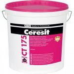 Ceresit (Церезит) Церезит СТ175 Штукатурка силикатно-силиконовая декоративная Короед зерно 2мм база (25кг)