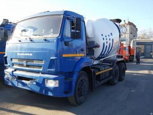 Автобетоносмеситель 58147А-19 шасси КАМАЗ 65115-773932-19