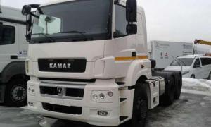 Седельный тягач КАМАЗ-65206-002-68