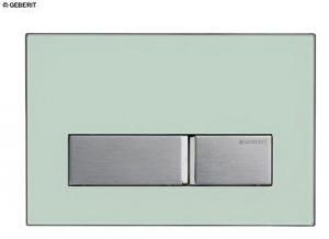 GEBERIT Sigma 50 115.788.SE.1 Накладная панель для унитаза (зеленое стекло)