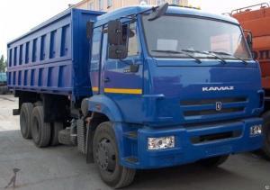 Самосвал КАМАЗ 552900 на шасси камаз 65115