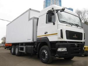 Фургон изотермический МАЗ 6312В9-429-012