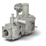 Регуляторы-стабилизаторы давления газа РС, с предохранительно-запорным клапаном ЗК и предохранительно-сбросным клапаном СК в отдельном корпусе