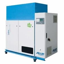 Винтовые безмаслянные компрессоры ALUP серии Lento с переменной производительностью.