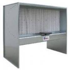 Сухая окрасочная кабина малогабаритная с сухими (бумажными) фильтрами