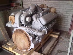 Двигатель ЯМЗ-238Д после капитального ремонта