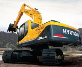 Экскаватор гусеничный Hyundai R220LC-9S
