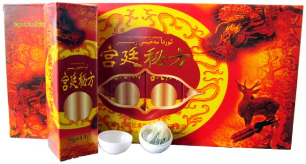 Китайские капсулы для потенции золотой дракон