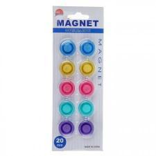 Магниты для магнитно-маркерных досок 10 штук