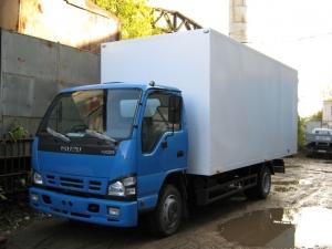 Изотермический фургон на шасси ISUZU