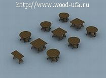Уникальные модульные столы
