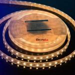 Герметичная светодиодная лента теплого белого свечения 5050 60 LED, IP 65, 14,4 Вт/м, 12V Lux DesignLed