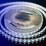 Герметичная светодиодная лента холодного белого свечения 5050 60 LED, IP 65, 14,4 Вт/м, 12V Lux DesignLed