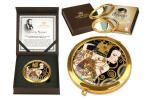 Зеркало карманное В ожидании ( Г. Климт) Carmani ( CAR181-1015-AL )