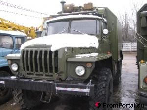 Продаем УРАЛ-4320 кунг срочно