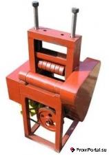 Вальцы электромеханические ручные 3-х валковые, прокаточный станок, трубогиб