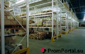 Оснащение складских комплексов стеллажным оборудованием.