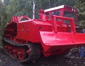 Трактор ТДТ-55. ТЛТ-100. ТЛТ-100-06