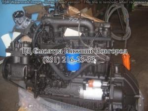 Двигатель Д-245.12С-2953 с КПП (переоборуд.ГАЗ-53) 109 л.с. с ЗИП ММЗ