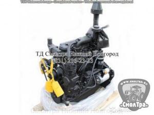 Двигатель Д 266.4-38 (электроагрегаты мощн.100кВт) 173л.с. с ЗИП ММЗ