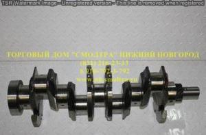 Вал коленчатый ЗИЛ-5301 под 2 шпонки,шлиц (7 отверстий) ММЗ 245-1005015-А